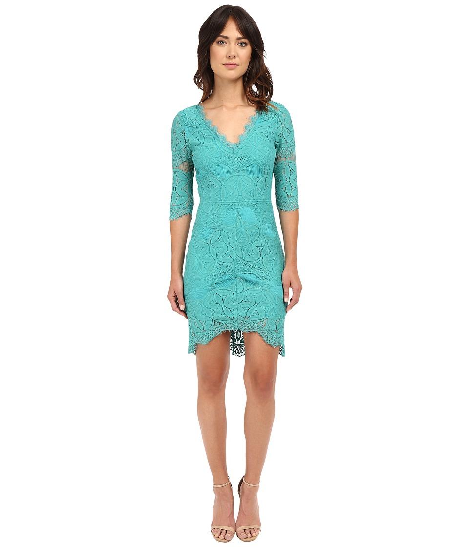 Brigitte Bailey Kali Lace Sheath Dress Jade Womens Dress