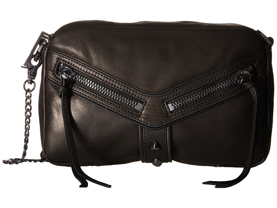 Botkier - Trigger East/West Top Zip (Black) Top-Zip Handbags