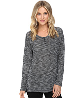 Brigitte Bailey - Heathered Long Sleeve Top