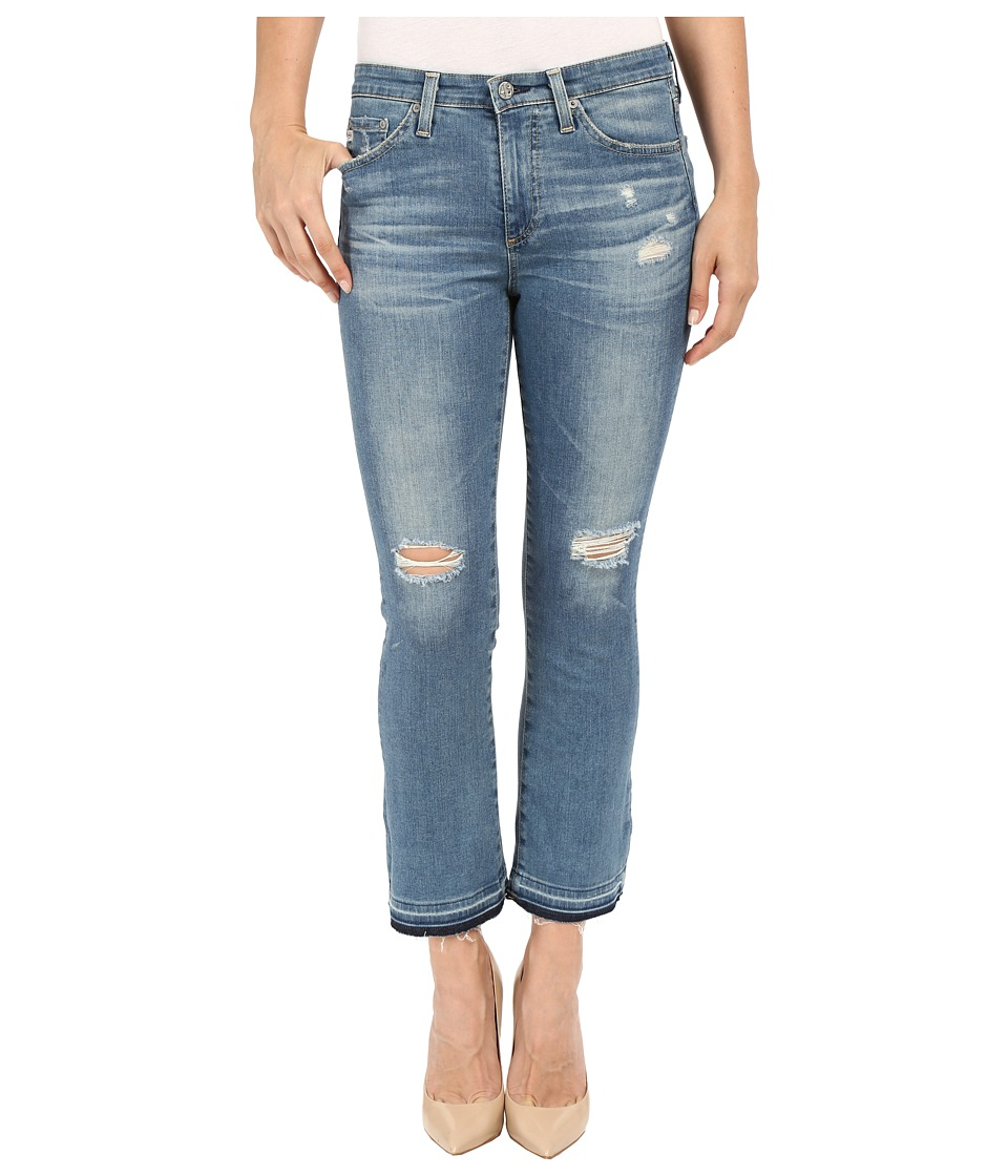 AG Adriano Goldschmied The Jodi Crop in 18 Years Sunbeam Flare 18 Years Sunbeam Flare Womens Jeans