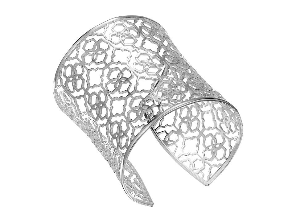 Kendra Scott Aimee Bracelet Antique Silver Metal Bracelet