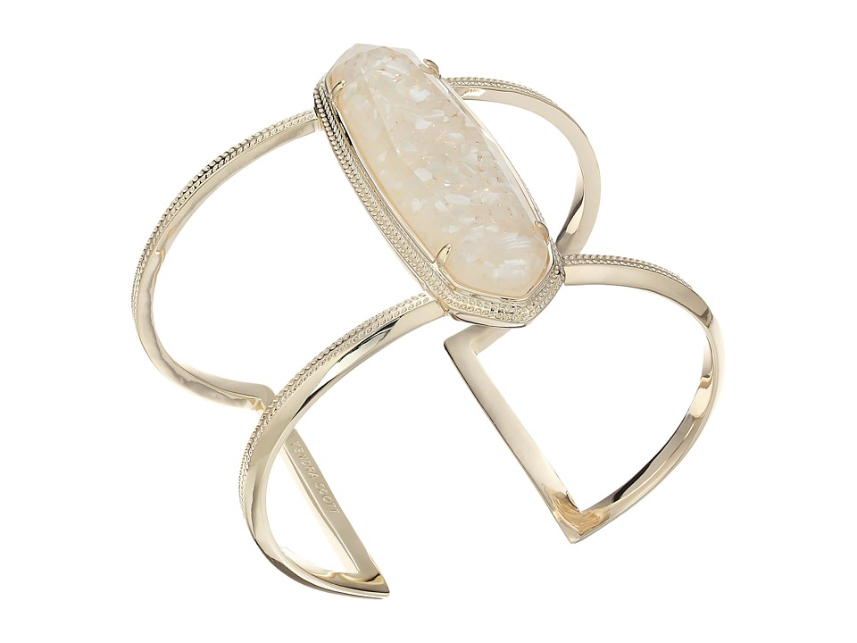 Kendra Scott Lawson Bracelet Gold/Crushed Ivory Mother of Pearl Bracelet