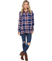 Brigitte Bailey - Plaid Boyfriend Button Up