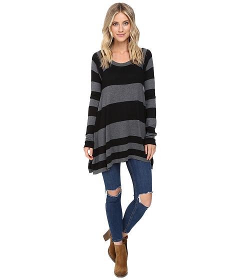 Brigitte Bailey Striped Swing Pullover