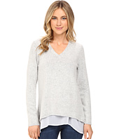 Brigitte Bailey - Mix Media V-Neck