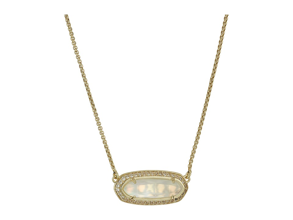 Kendra Scott Annika Necklace Gold/Ivory Mother of Pearl Necklace