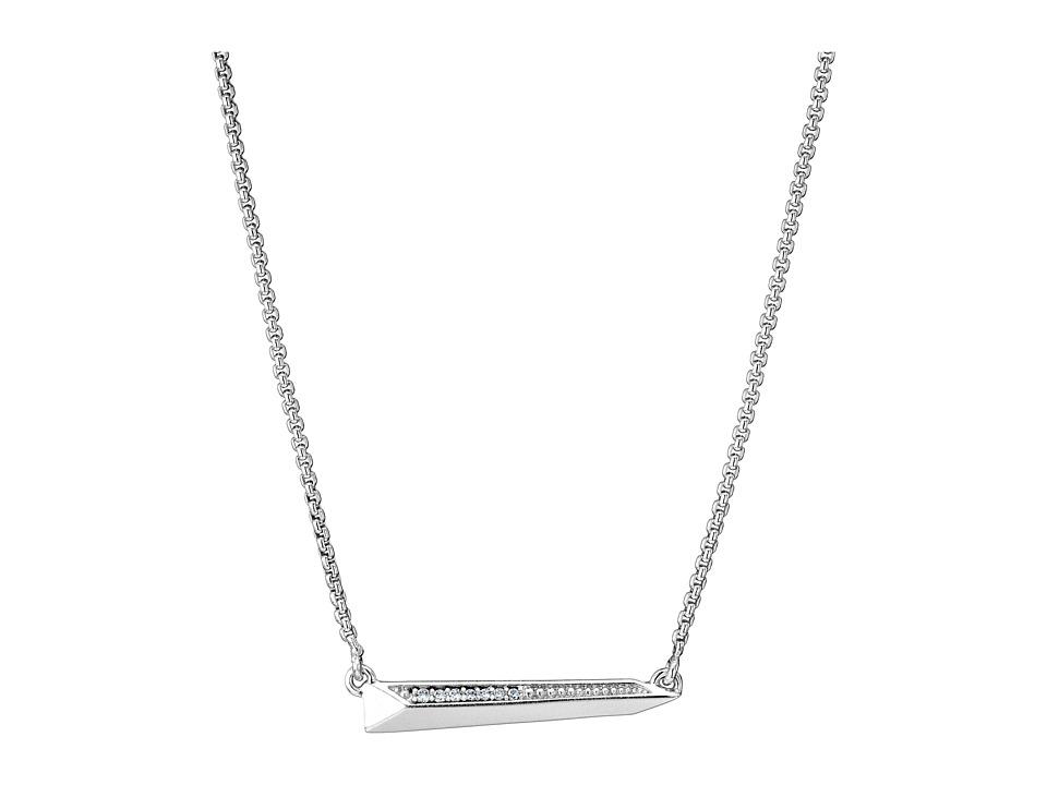 Kendra Scott Elliot Necklace Rhodium Metal Necklace