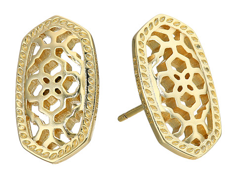 Kendra Scott Bryant Earrings - Gold Metal