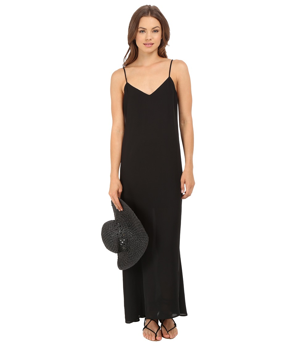 Show Me Your Mumu Montecito Maxi Dress Black Crisp Womens Dress