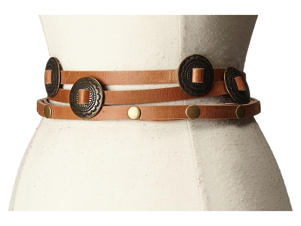 ADA Collection Sasha Belt Cognac Womens Belts