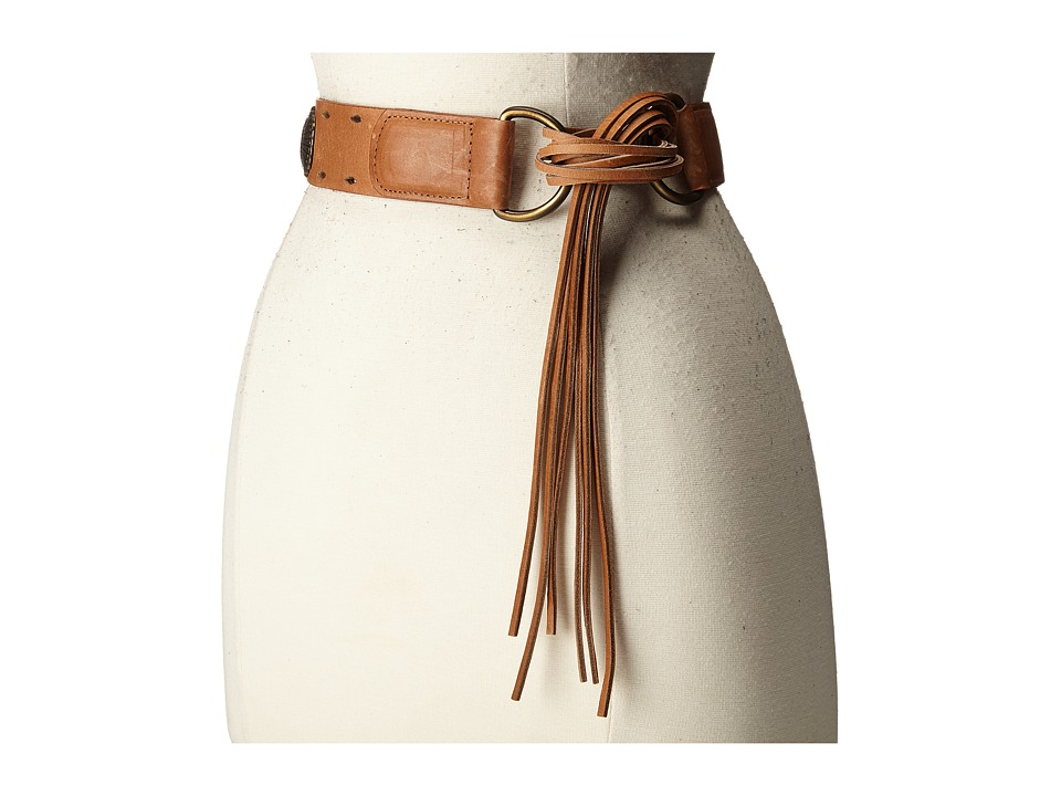ADA Collection Jessie Belt Cognac/Bronze Womens Belts