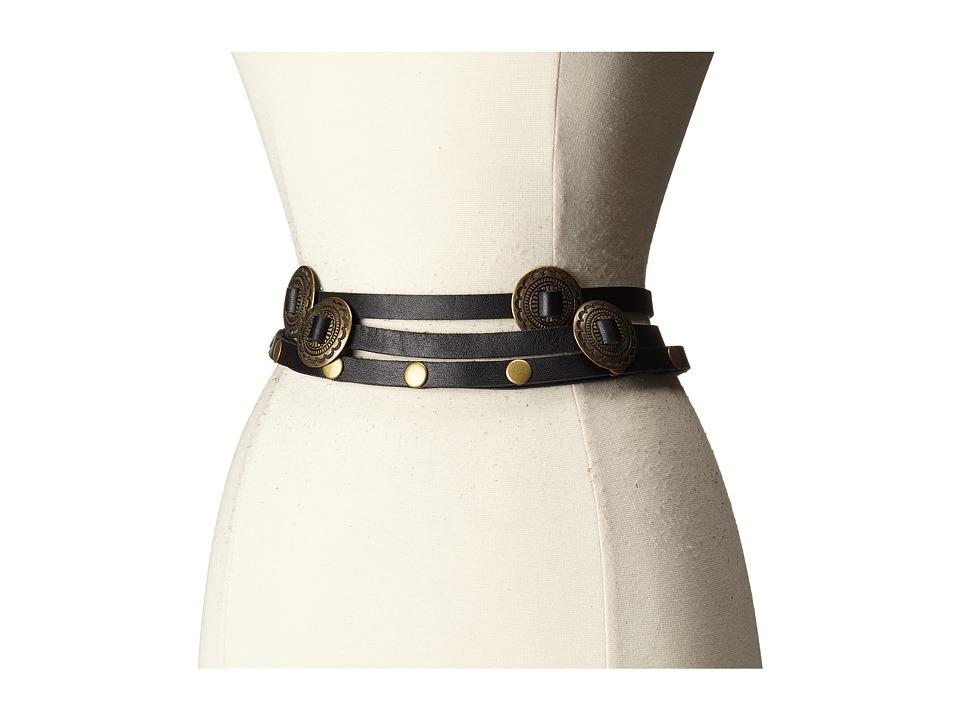 ADA Collection Sasha Belt Black Womens Belts