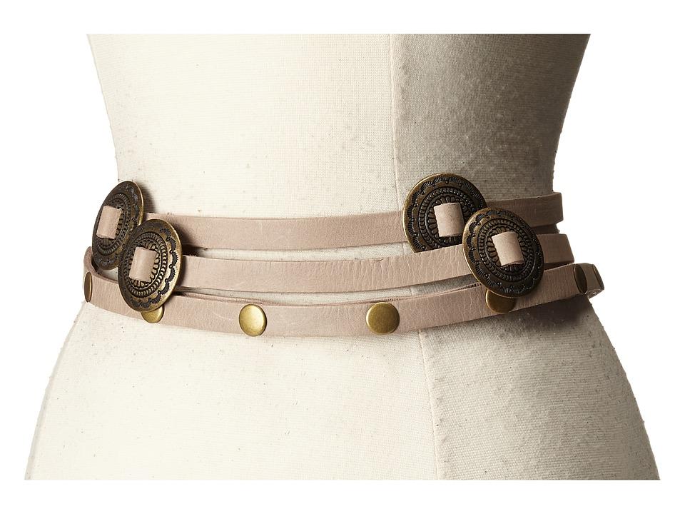 ADA Collection Sasha Belt Taupe Womens Belts