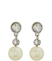 LAUREN Ralph Lauren - Social Set Crystal Pearl Double Drop Earrings