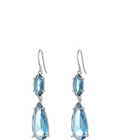 LAUREN Ralph Lauren - Mad About Hue Faceted Stone Double Drop Earrings