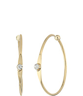 LAUREN Ralph Lauren - Fringe Worthy Mini Hoop Stone Earrings