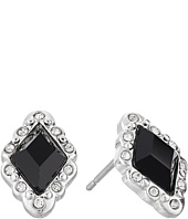LAUREN Ralph Lauren - Estate Small Faceted Stone Stud Earrings
