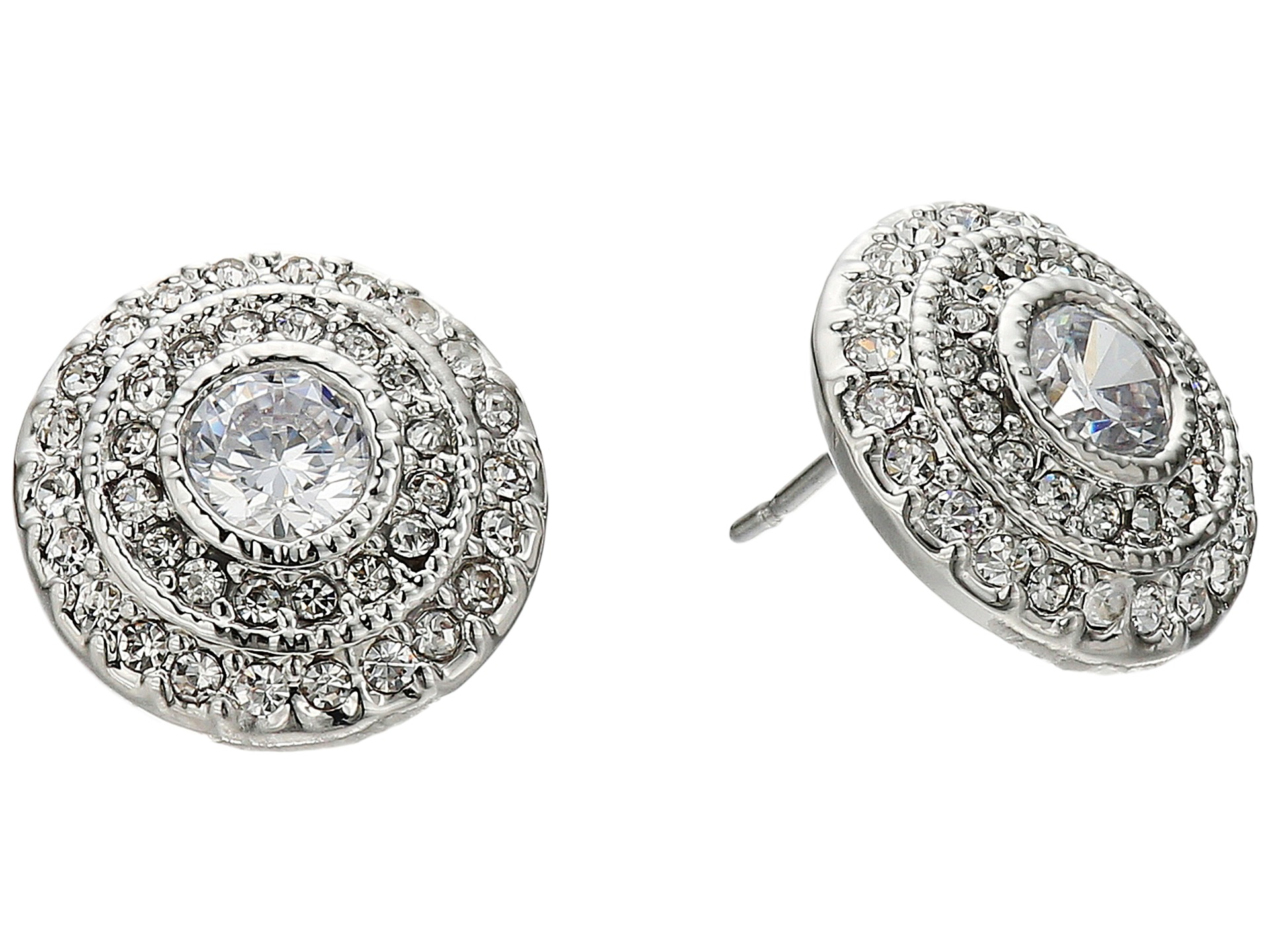 LAUREN Ralph Lauren Social Set Vintage Crystal Stud Earrings at