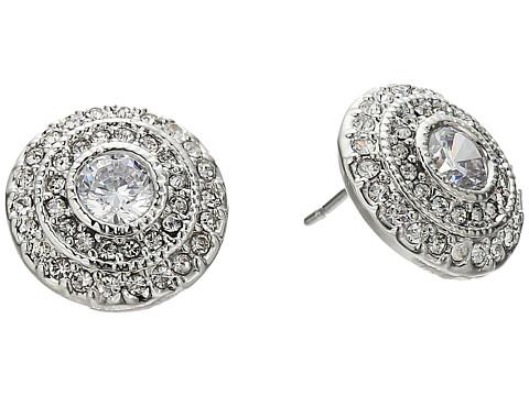 LAUREN Ralph Lauren Social Set Vintage Crystal Stud Earrings - Crystal/Silver