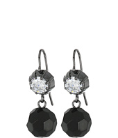 LAUREN Ralph Lauren - Hide and Chic Faceted Stone Double Drop Earrings
