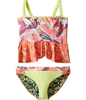 Maaji Kids - Oh La La Ruffle Ruffle Trim Tankini Set (Toddler/Little Kids/Big Kids)