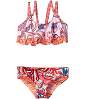 Maaji Kids - City of Art Ruffle Trim Bikini Set (Toddler/Little Kids/Big Kids)