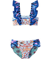 Maaji Kids - Bateau Mouches Ruffle Front Bikini Set (Toddler/Little Kids/Big Kids)