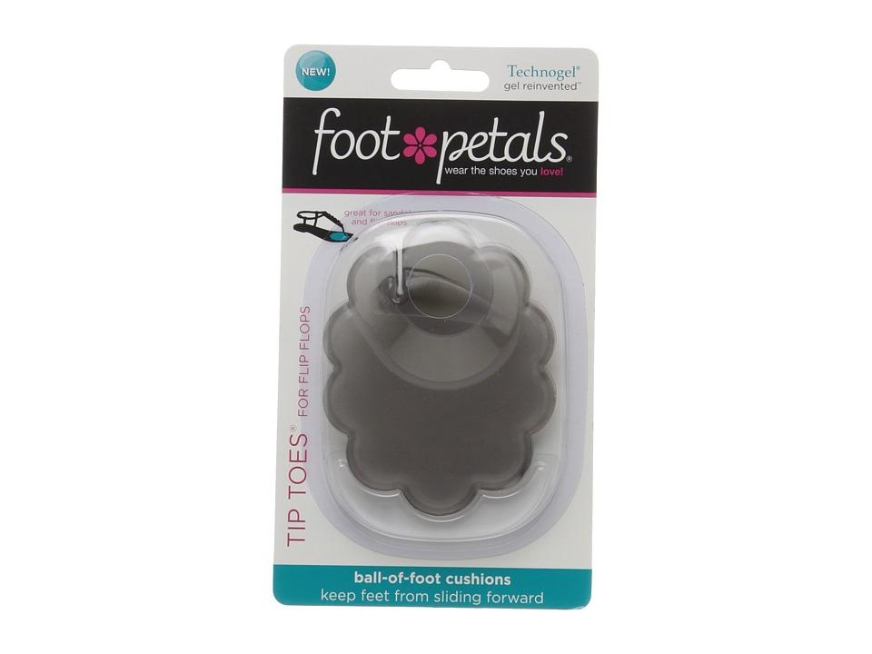 Foot Petals Technogel Tip Toes for Flip Flops Grey Womens Insoles Accessories Shoes