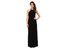 Jersey Halter Gown w/ Necklace