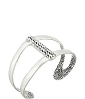 The Sak - Woven Texture Open Cuff Bracelet