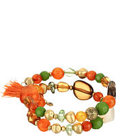 The Sak - Beaded Coil Bracelet