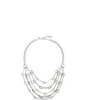 Robert Lee Morris - Silver Multi Row Chain Necklace
