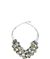 Robert Lee Morris - Blue Shell Multi Row Necklace