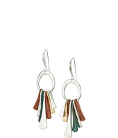 Robert Lee Morris - Patina Two-Tone Stick Drop Earrings