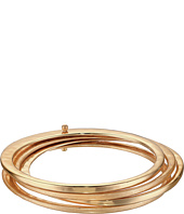 Robert Lee Morris - Gold Hammered Bangle Set Bracelet