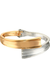 Robert Lee Morris - Two-Tone Hinged Bypass Bangle Bracelet