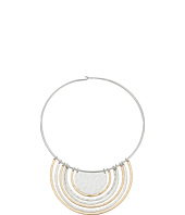 Robert Lee Morris - Two-Tone Round Wire Pendant Necklace