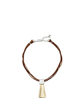 Robert Lee Morris - Leather Pendant Necklace