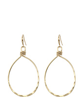 Robert Lee Morris - Shiny Gold Gypsy Hoop Earrings