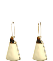 Robert Lee Morris - Tortoise Gold Shepherd Hook Earrings