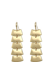 Robert Lee Morris - Gold Shaky Linear Earrings