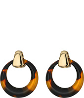 Robert Lee Morris - Tortoise Gypsy Hoop Earrings