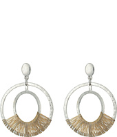 Robert Lee Morris - Two-Tone Orbital Earrings