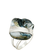 Robert Lee Morris - Blue Shell Cocktail Ring