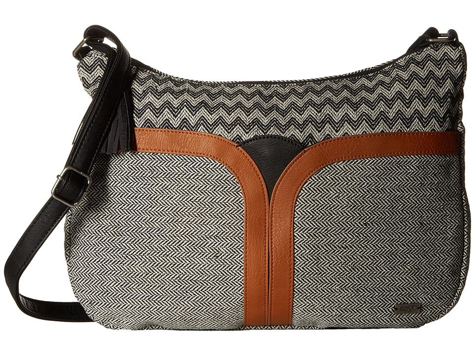 Roxy - Sun Chimes Crossbody Purse (True Black) Cross Body Handbags