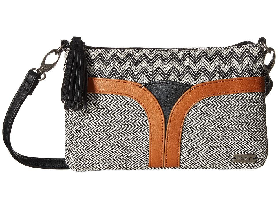 Roxy - Wind Chimes Crossbody Purse (True Black) Cross Body Handbags