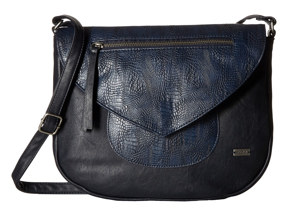 Roxy - Best Girls Crossbody Purse (Blue Print) Cross Body Handbags