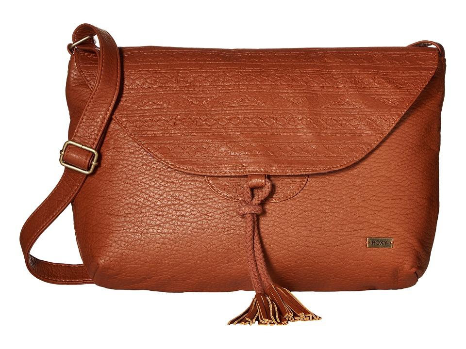 Roxy - Love Grows Crossbody Purse (Brown) Cross Body Handbags
