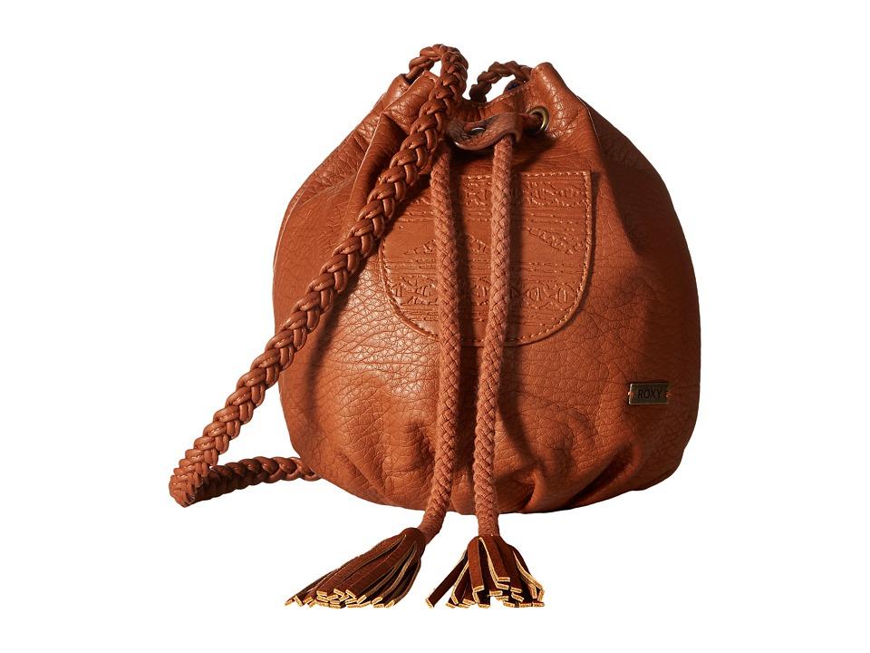 Roxy - Soul Surfer Crossbody Purse (Brown) Cross Body Handbags