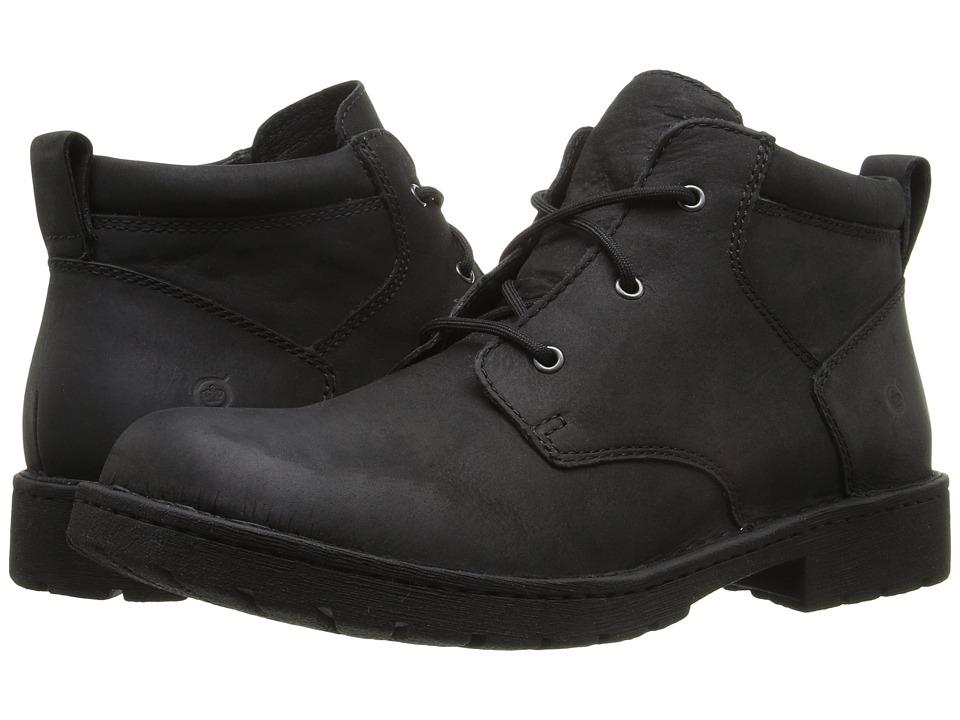 Born Fulton (Black Full Grain Leather) Men